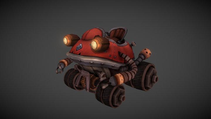 Locomobile [Enmorph] 3D Model