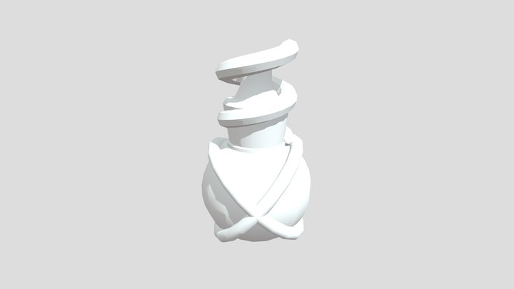 Potion Bottle 3D Model