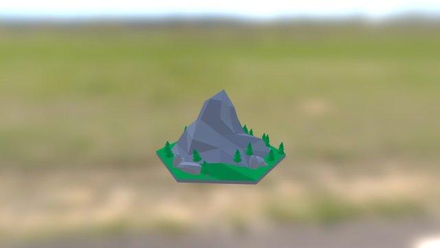 Mountain Tile 1 3D Model