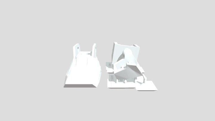 parts for HG191 RX782_revive X gundam Fix 3D Model