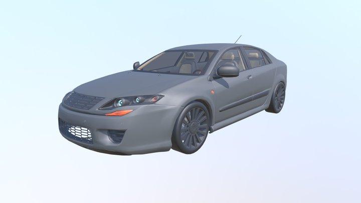 Dosch - Car Details V2 - VRML 3D Model