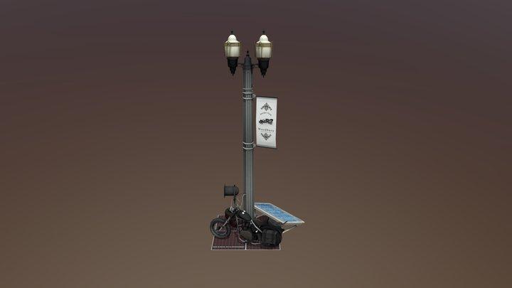 5 Woodbury Props 3D Model