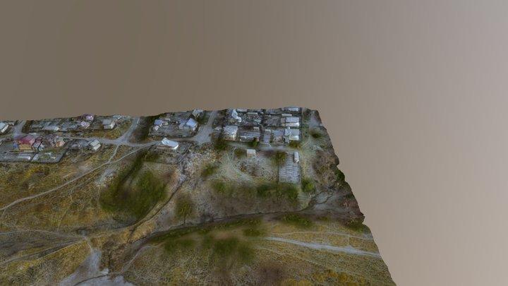 Chapaevkiy block in Perm city 3D Model