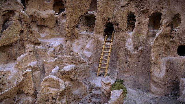Bandelier National Park Cliff Dwelling 3D Model