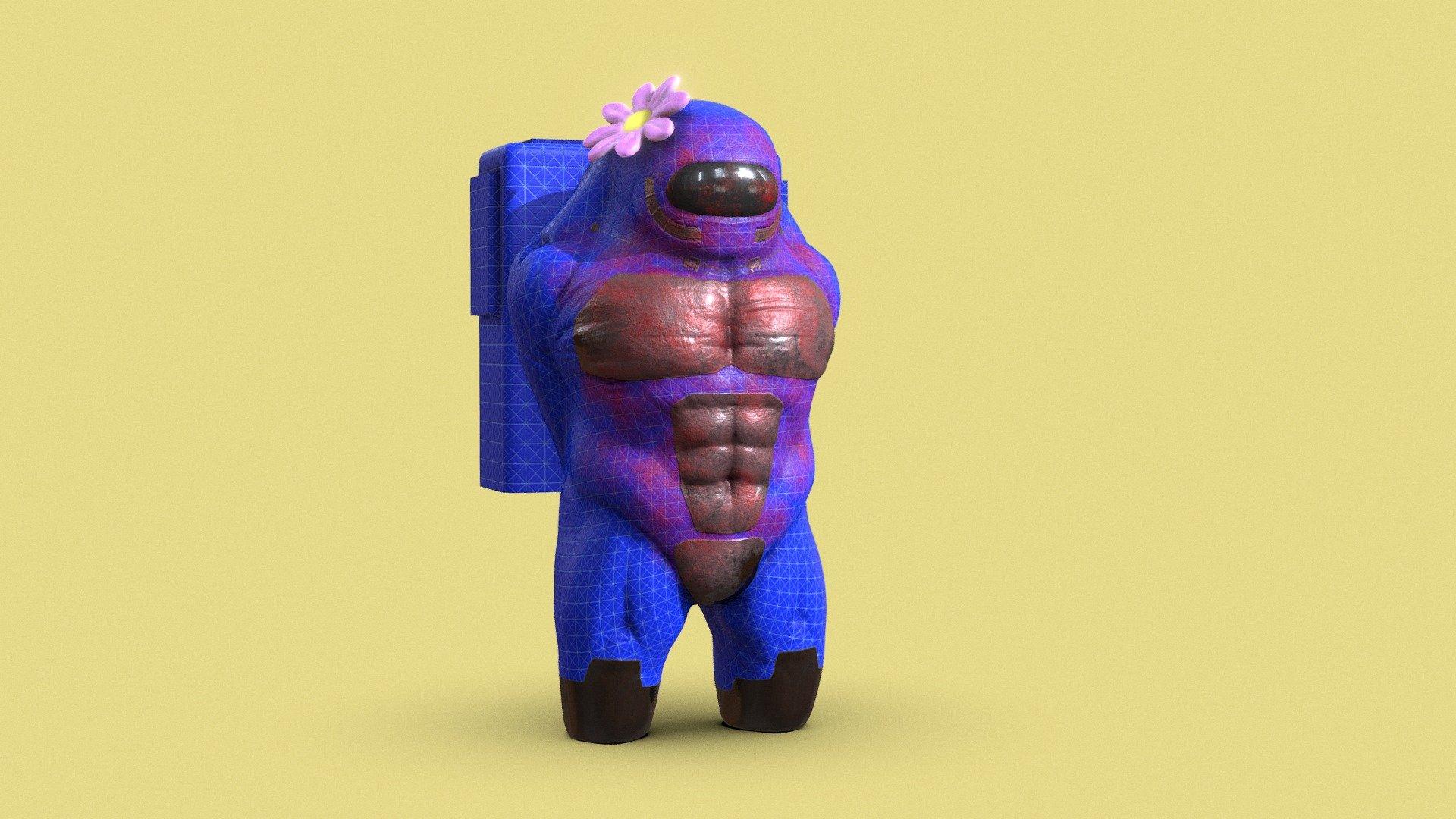 IMPOSTER AMONG US - Download Free 3D model by Freddy Drabble (@FredDrabble) [38676e9] - Sketchfab