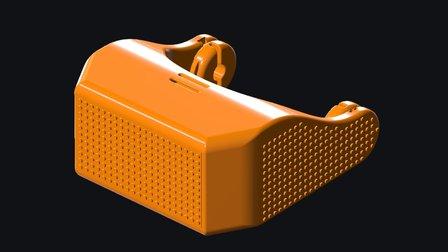 DIYHMD V4 Standard Configuration 3D Model