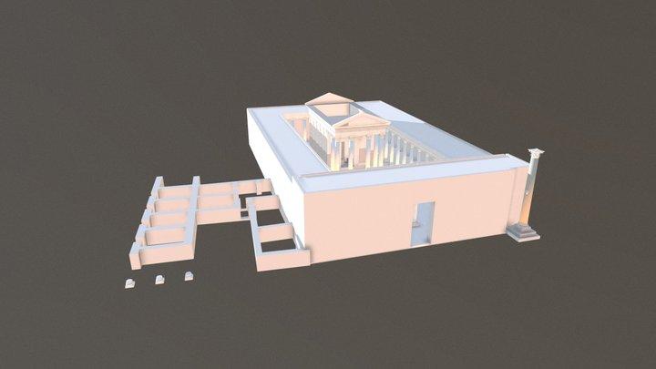 Temple of Al-Lat 3D Model