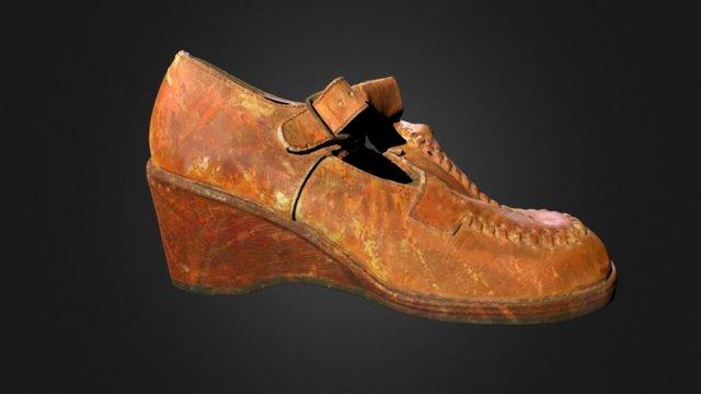 70's Shoe - North Uist 3D Model