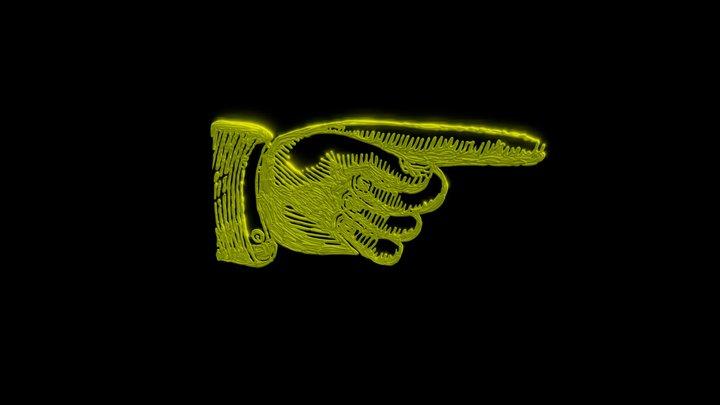 monty_hand 3D Model