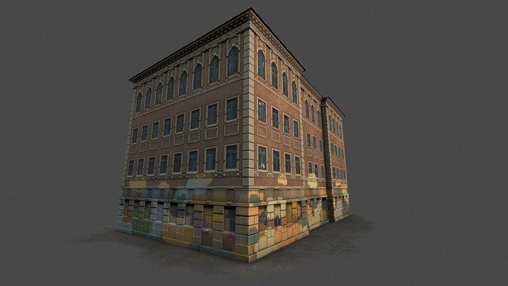 Modern Street Art 3D Model