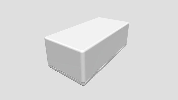 Multipurpose plastic enclosure series TW9617 3D Model