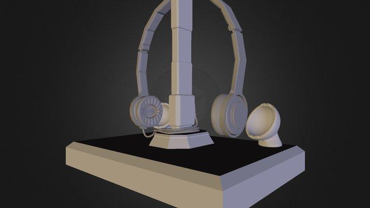 Headphones 3D Model