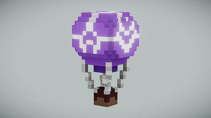 Hot Air Ballon 3D Model