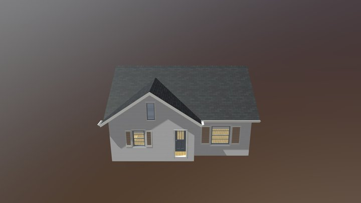 Bungalow-the Weeks 3D Model