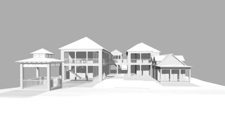 Plan It Bahamas - Hatchard Residence 3D Model