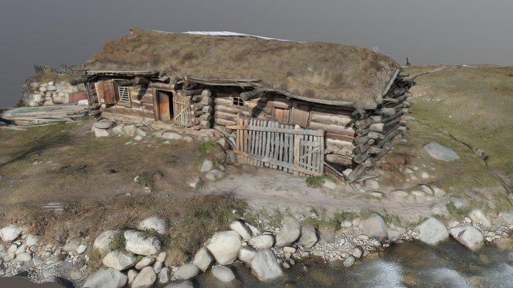 Khurzuk - water mill 3D Model