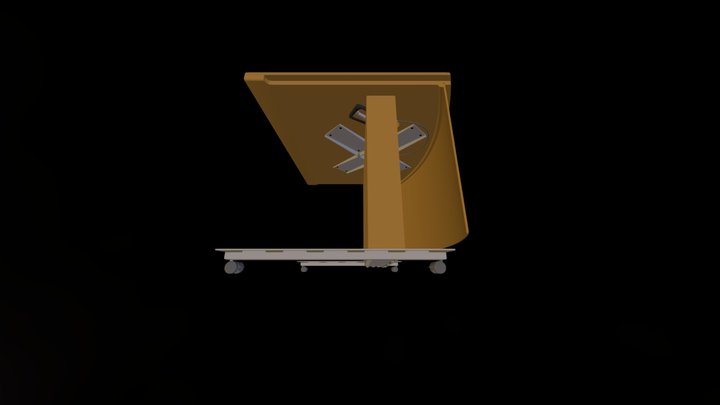 Enwork Monolith Assembly- Lowest 3D Model