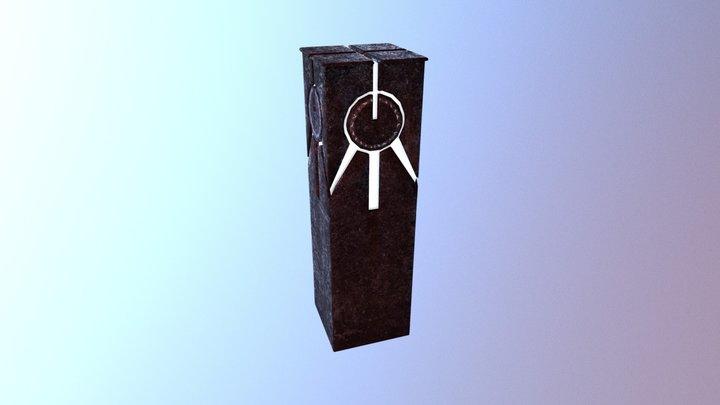 Quake Champions Tower 3D Model