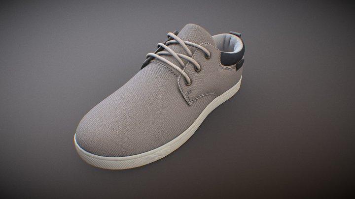 canvas shoe 3D Model