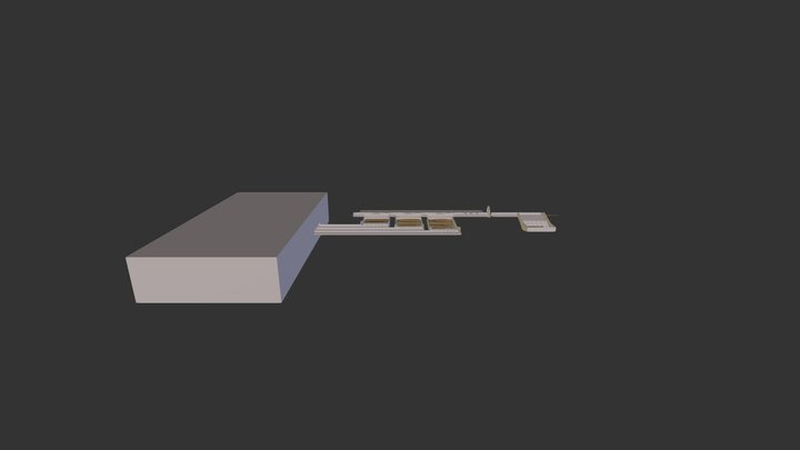 Log Handler 3D Model