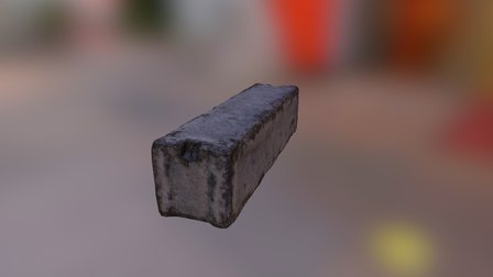 SM Concrete Block 3D Model