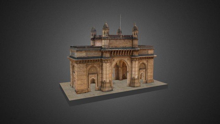 Gateway Of India - Mumbai 3D Model