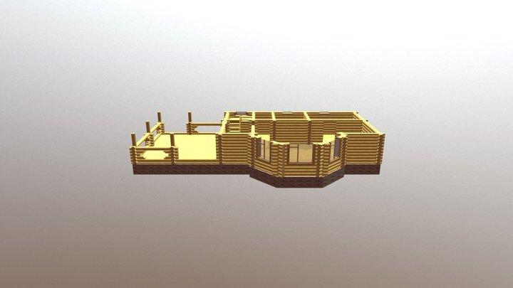 6ц авангард разрез 1 3D Model