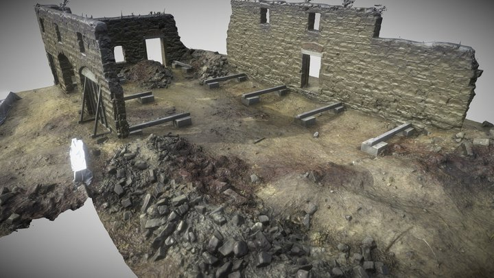 Smelting House - Kawau Island 3D Model