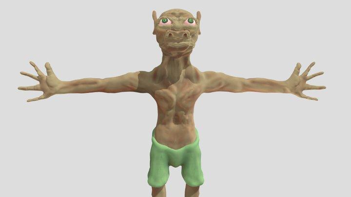 Gnoll 3D Model