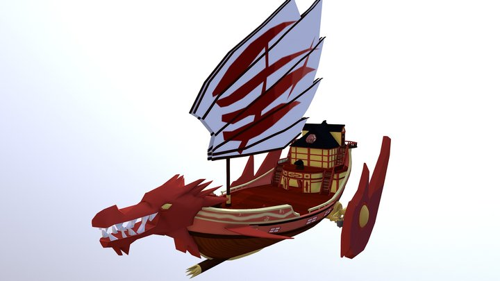 Ninjago: Destiny's Bounty (WIP) 3D Model
