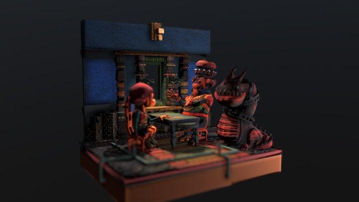 Cafetime 3D Model