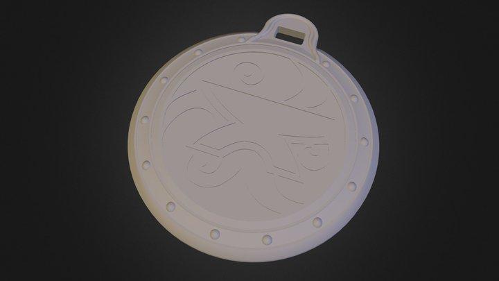 Amulette De Zenithar 3D Model