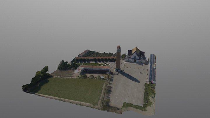 Santuario dell'Incoronata - Foggia 3D Model