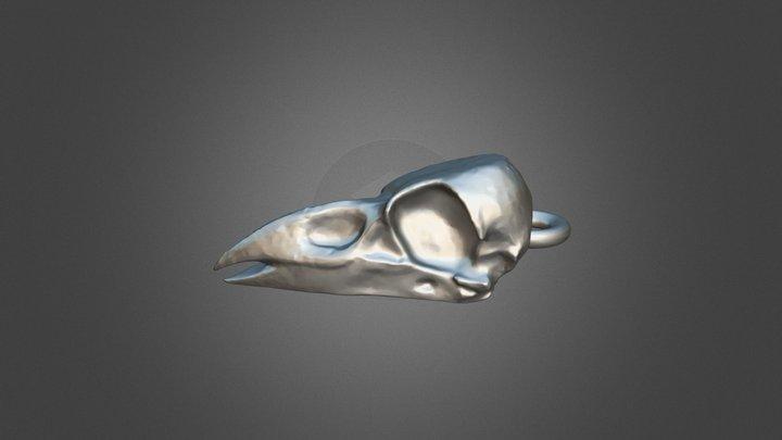 Raven Pendant 3D Model