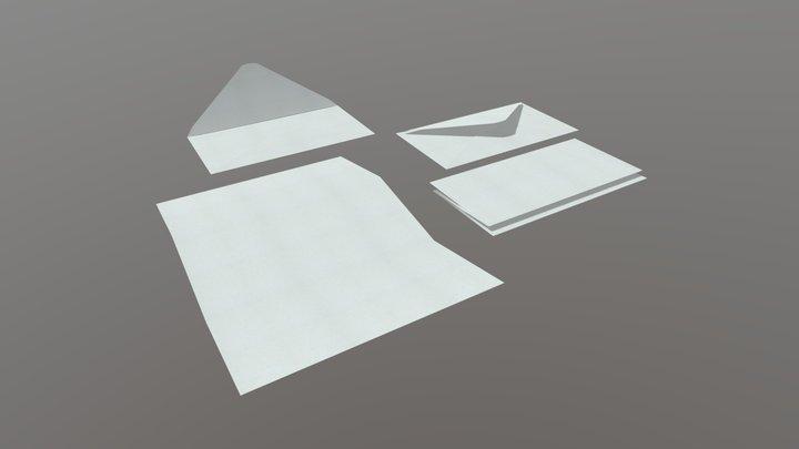 Envelope Pack 3D Model