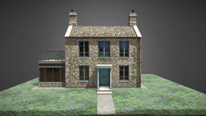 English Cottage 3D Model