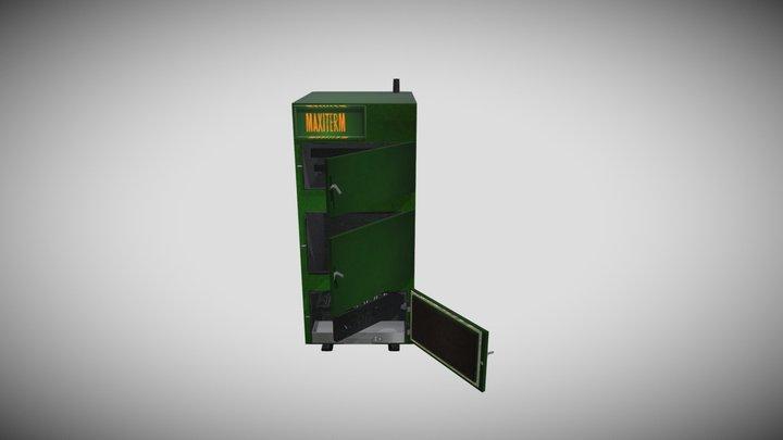 Твердотопливный котел Maxiterm 3D Model