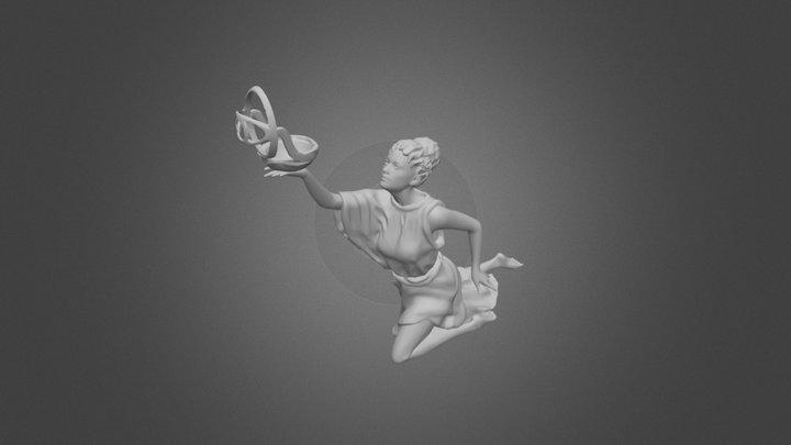 Musa Griega 3D Model