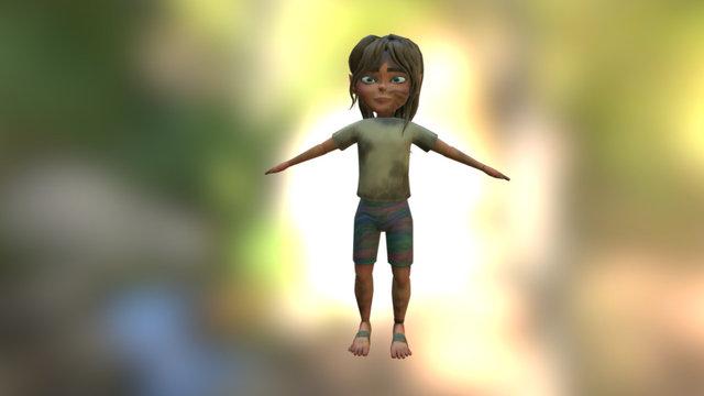Wip Character 3D Model