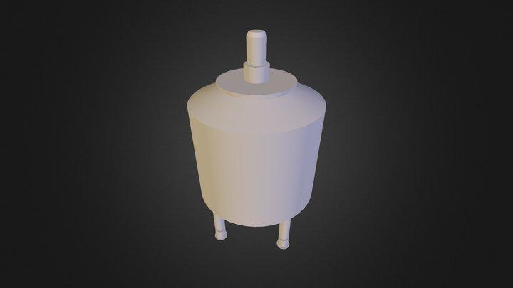 Ice Storage 1500L 3D Model