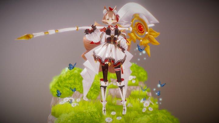 Nine Tail - Hoshi 3D Model