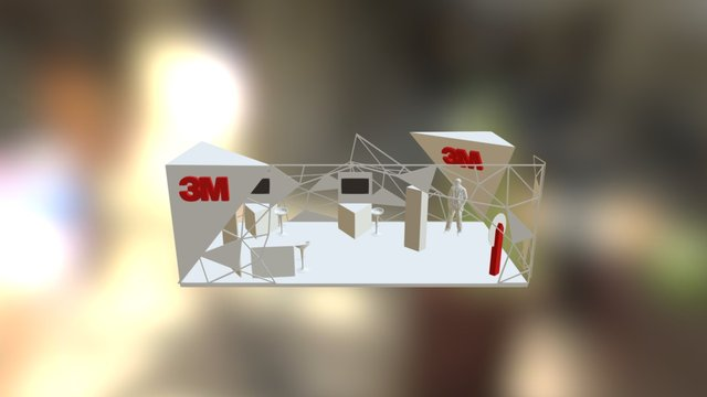 Stand 3M 3D Model