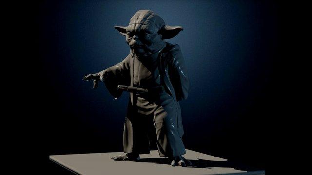 Yoda-test-03 3D Model