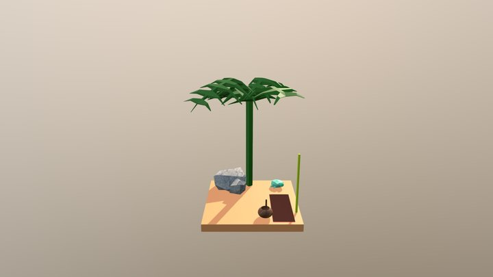 Beach WIP1 3D Model