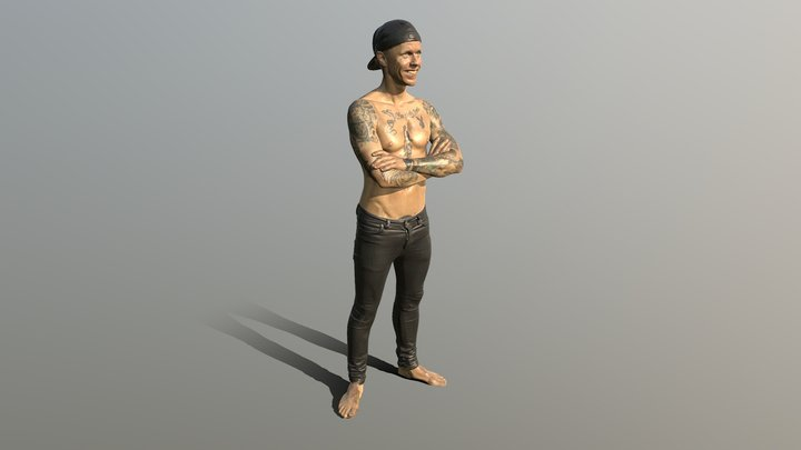 "Bingo Rimer  ""him self"" 3D Model"