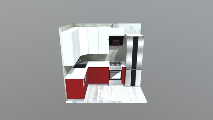 Project #3: red+white 3D Model