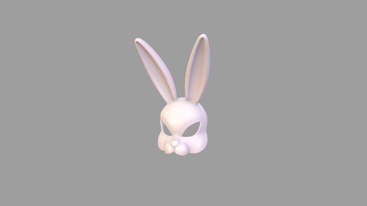 Rabbit Mask 3D Model