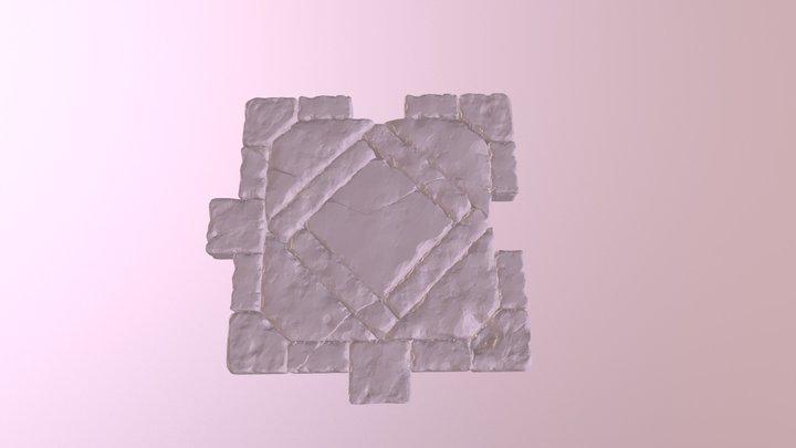 Tile mesh - low 3D Model