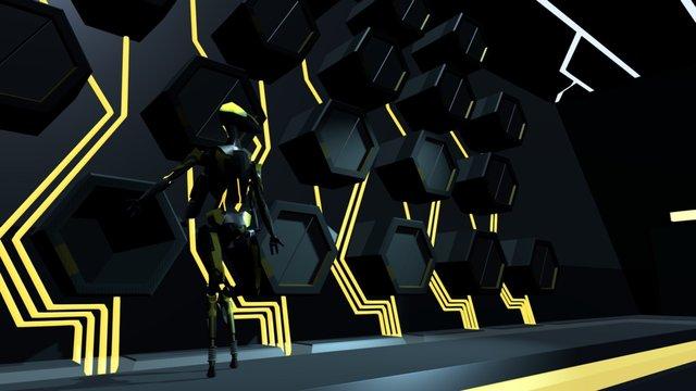 Hive Laboratory 3D Model