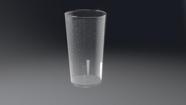 Polycarbonate Plastic  Cup Glass 3D Model